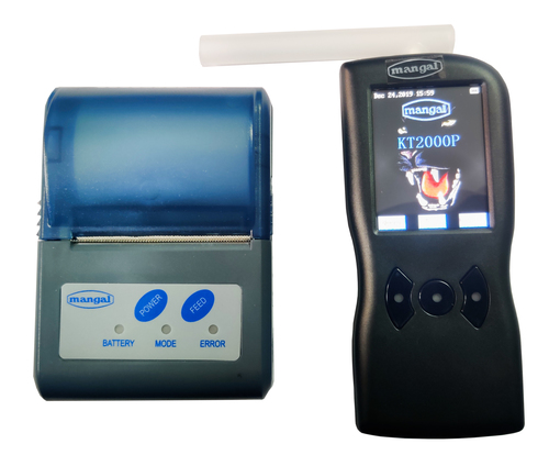 Alcohol Breath Analyzers with Printers