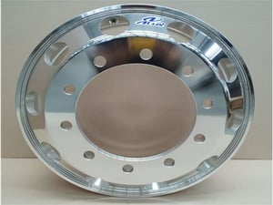 Forged Aluminum wheels for commercial vehicles