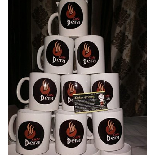 Custom Personalized Logo Printed Coffee Mug
