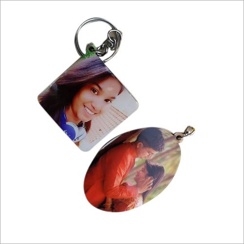 Photo Printed Key Chain