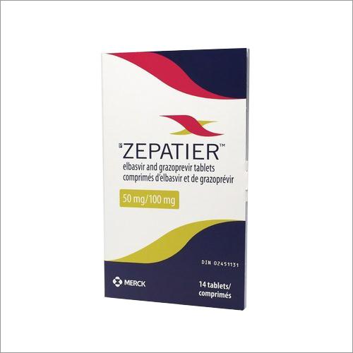 Elbasvir and Grazoprevir Tablets