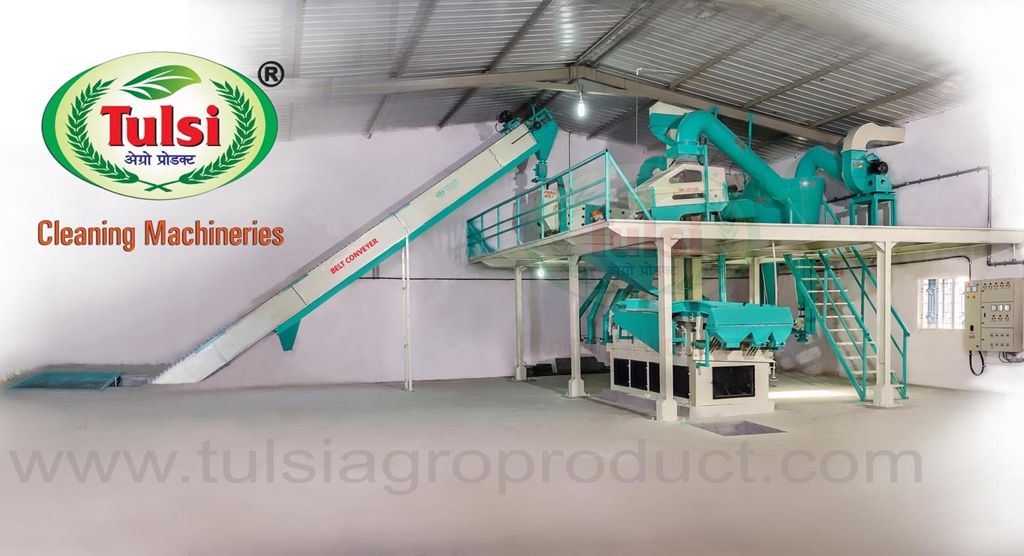 Multi Purpose Vibro Seed Cleaning Plant