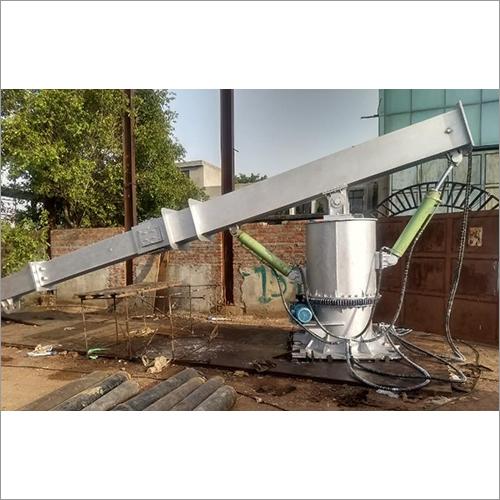 Hydraulic Pusher Manipulator for Furnace