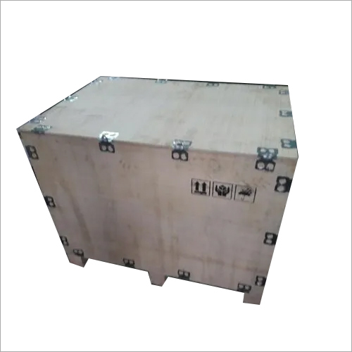 White Nailless Plywood Box for Shipping