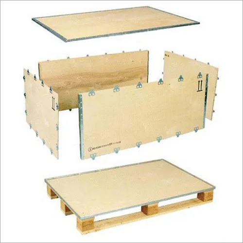 Nailless Plywood Packing Box
