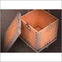 Small Light Weight Nailless Wooden Box