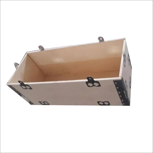 Silver Wooden Nailless Box For Export