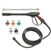 3ft High Pressure Washer Spray Gun With Different Angle Nozzle And Hose Pipe
