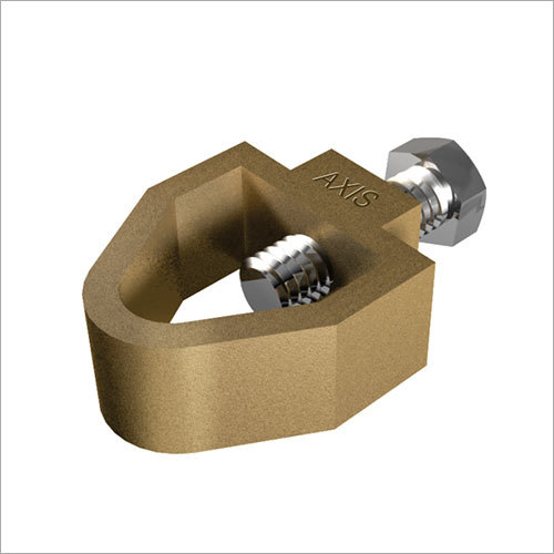 Gunmetal Rod to Tap Clamps with SS Bolt