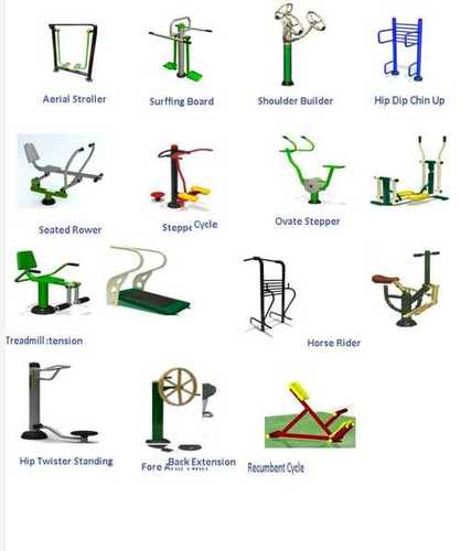 Gym and Play Area Equipments