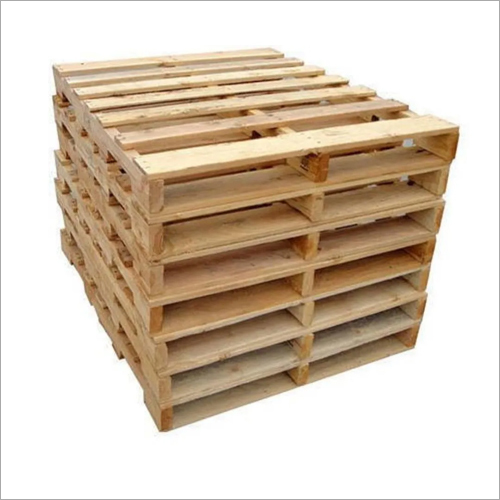 Industrial Four Way Wooden Pallets