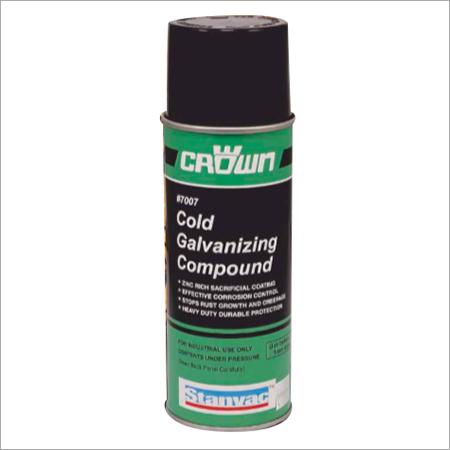 Zinc Based Anti Corrosion Aerosols