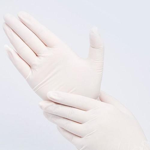 White Disposable Latex Gloves