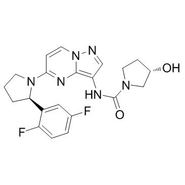TRK inhibitor LOXO-101 Larotrectinib CAS No.: 1223403-58-4