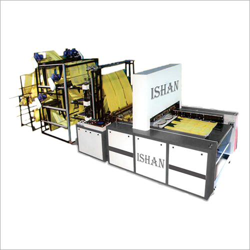Industrial Bottom Sealing Machine With Online Punch
