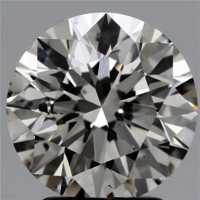 Round Brilliant Cut Lab Grown 2.56ct H SI2 IGI Certified Diamond 436070699