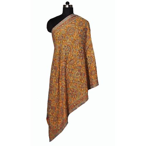 Fine Wool Kani Stole