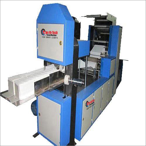 Bandsaw Tissue Napkin Machine