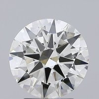 Round Brilliant Cut Lab Grown 2.4ct J VVS2 IGI Certified Diamond 432026356
