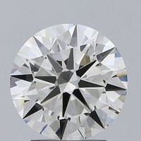 Round Brilliant Cut Lab Grown 2.28ct J VVS2 IGI Certified Diamond 407911747