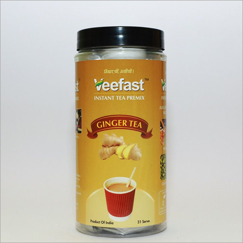 Ginger Tea with 31 serves and 32 stirrers to mix