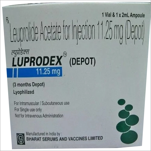 11.25 mg Leuprolide Acetate For Injection