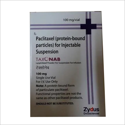 Paclitaxel (Protein Bound Particles) For Injection