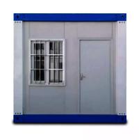 Glass Prefabricated Steel Prefab House