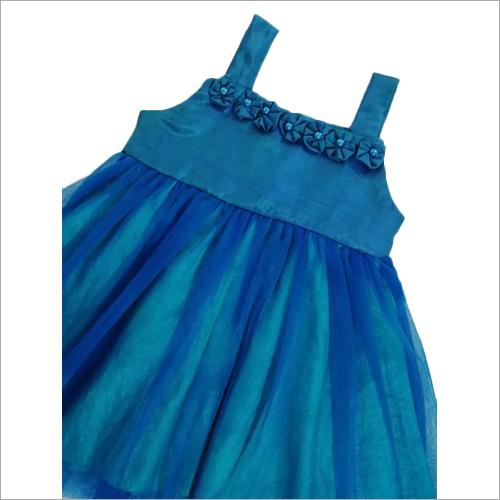 Girls Blue Frock