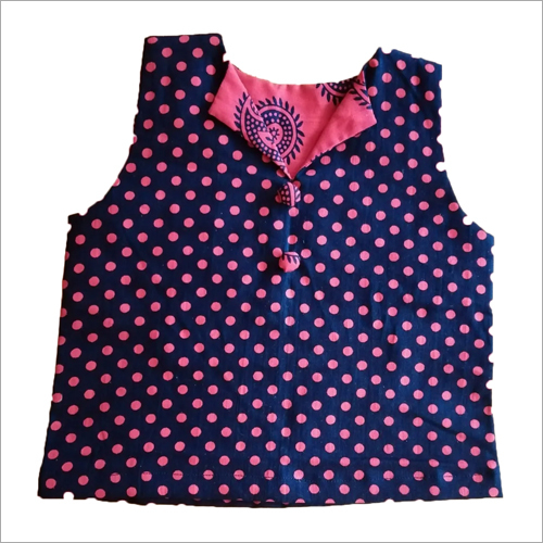 Girls Dotted Print Top