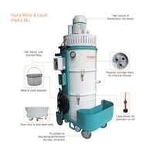 Hydra Metal Liquid & Dry Vacuum Cleaners