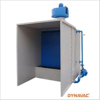 Water Wash Spray Paint Booth