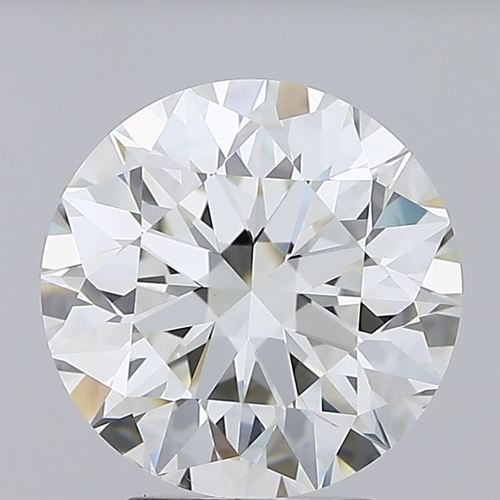 Round Brilliant Cut Lab Grown 3.27ct H VS1 IGI Certified Diamond 444085905