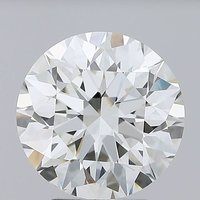 Round Brilliant Cut Lab Grown 3.27ct H VS1 IGI Certified Diamond 444085905
