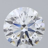 Round Brilliant Cut Lab Grown 3.03ct D VS2 IGI Certified Diamond 425061094