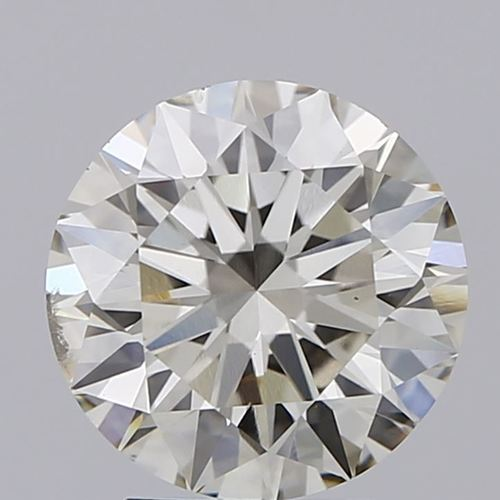 Round Brilliant Cut Lab Grown 3ct K SI1 IGI Certified Diamond 440020226