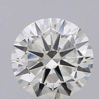 Round Brilliant Cut Lab Grown 3ct J VS1 IGI Certified Diamond 440020225