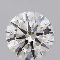 Round Brilliant Cut Lab Grown 2.6ct I VS1 IGI Certified Diamond 440009505