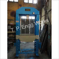 Long Height H Frame Hydraulic Press