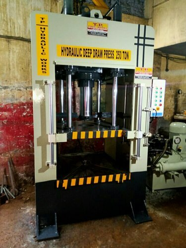 250 Ton Capacity Hydraulic Deep Draw Press Machine Five Cylinder Type