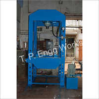 100 Ton Power Operated Hydraulic Press Machine