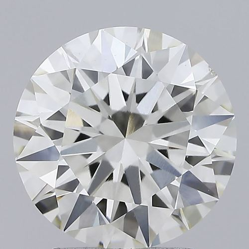 Round Brilliant Cut Lab Grown 2.5ct J VS1 IGI Certified Diamond 432026353