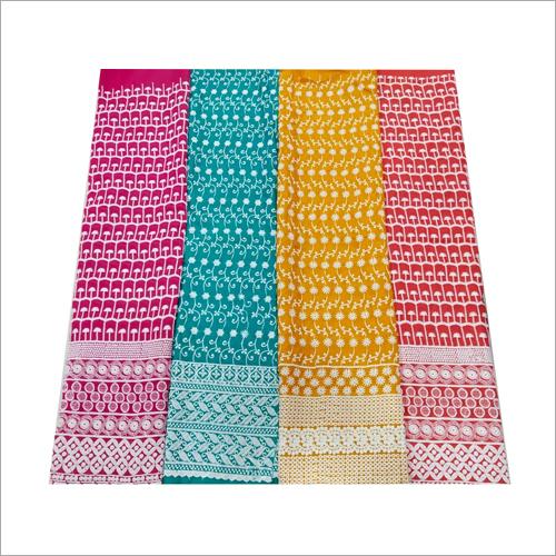 Cotton Schiffli Fabric