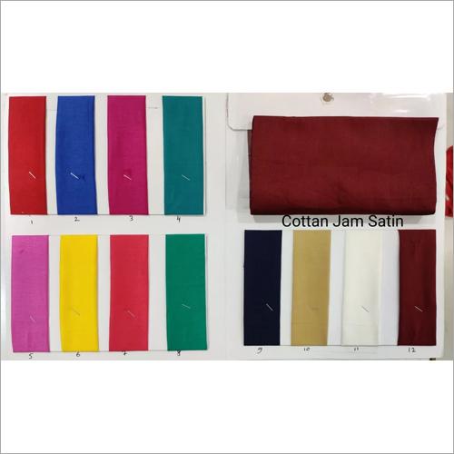 Cotton Jam Satin Fabric