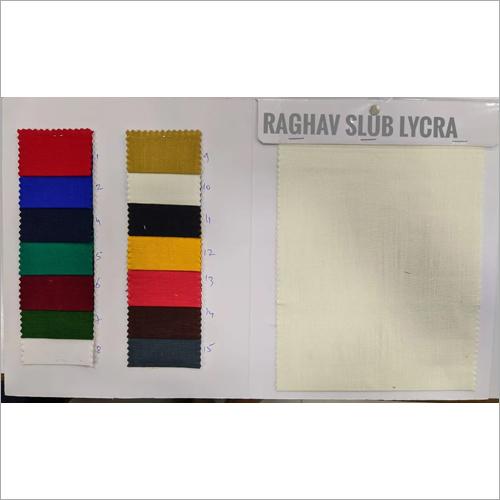 Washable Rayon Slub Lycra Fabric