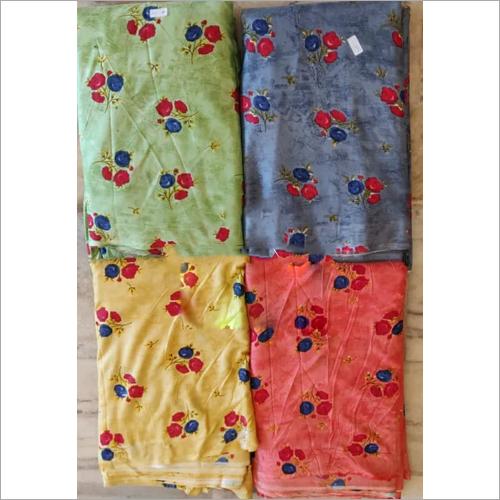 Washable Rayon Print Fabric