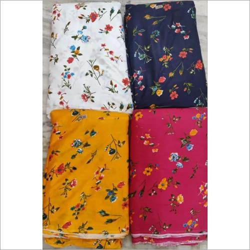 Rayon Print Kurti Fabric