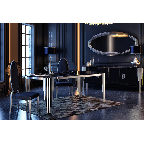 Cratos Yemek odasi Luxury Furniture Table Chair