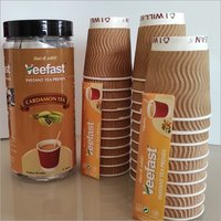 Cardamom Tea with 31 serves, 32 Insulated Cups and 32 stirrers to mix