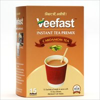Aromatic Cardamom Tea With 15 sachets of tea premix and 15 stirrers to mix